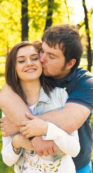 Анна Руднева и Павел Сердюк