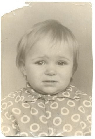 Виктория Морозова в детстве