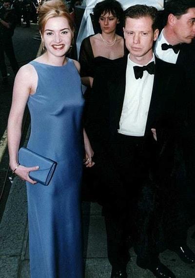 Кейт Уинслет и Стивен Тредр. Фото