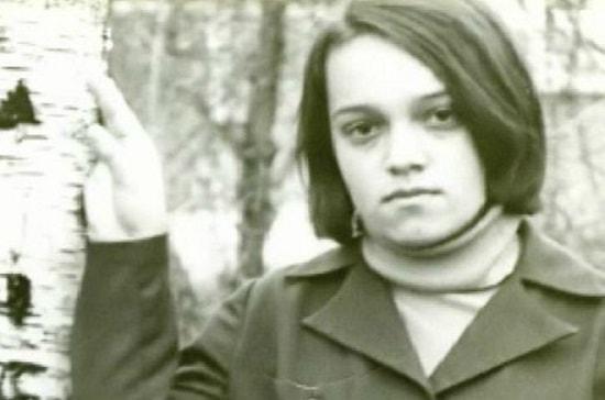 Надежда Кадышева в молодости
