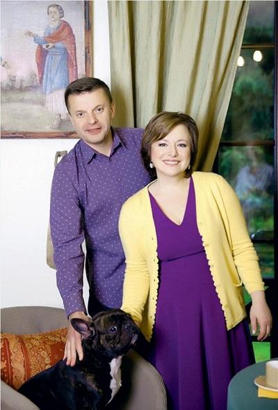 Леонид Парфенов с женой