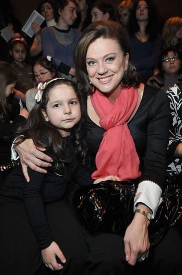 Светлана Сорокина с дочерью Тоней