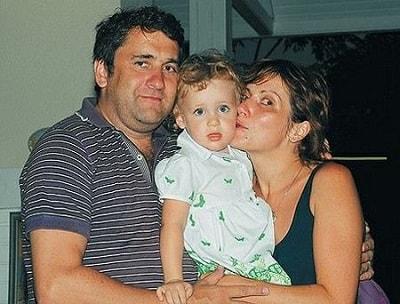 Светлана Зейналова и Алексей Глазатов с дочерью