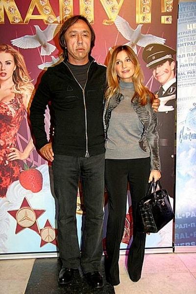 Ольга Орлова и Ренат Давлетьяров
