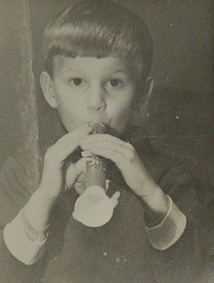 Дмитрий Губерниев в детстве