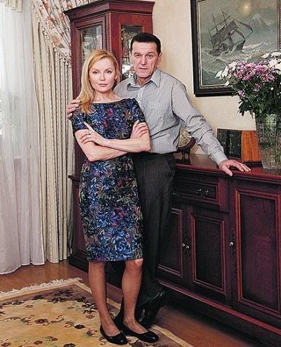 Лариса Вербицкая и Александр Дудов
