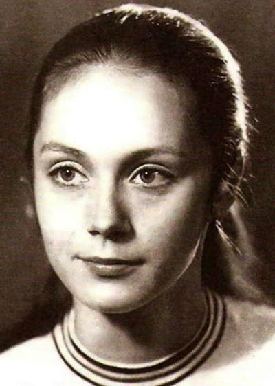 Ирина Купченко в молодости