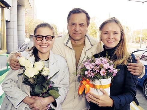 Андрей Соколов и Мария Голубкина