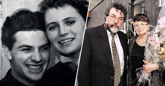 Александр Ширвиндт с женой Натальей