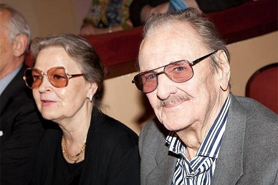 Юрий Яковлев и Ирина Сергеева
