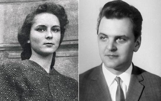 Юрий Яковлев и Кира Мачульская