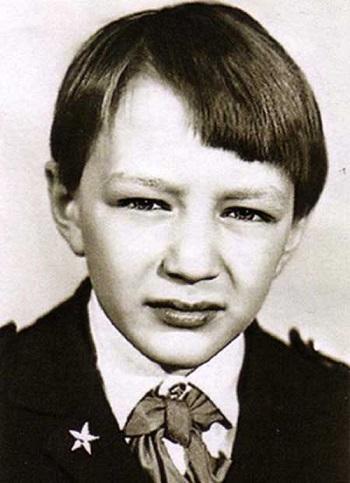 Марат Башаров в детстве