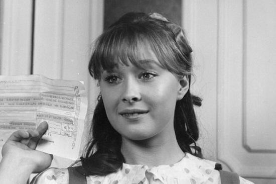 Лариса Удовиченко в юности