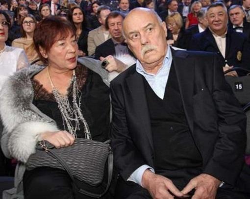 Станислав Говорухин с женой Галиной. Фото