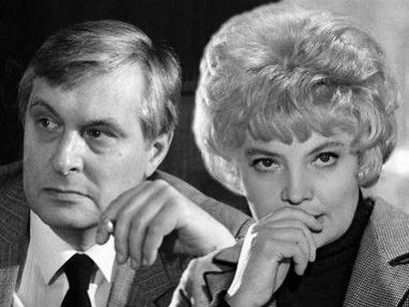 Олег Басилашвили и Татьяна Доронина