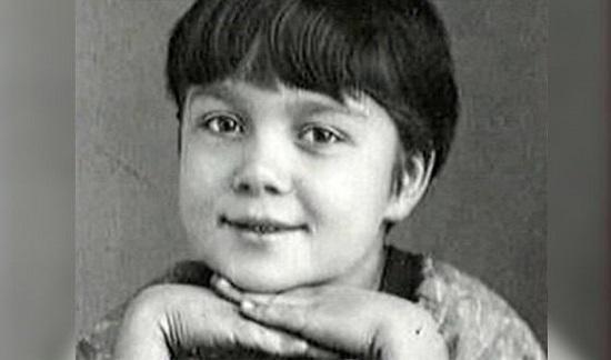 Нина Дорошина в детстве