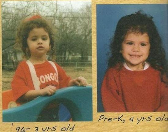 Селена Гомес в детстве