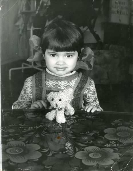 Ирина Круг в детстве