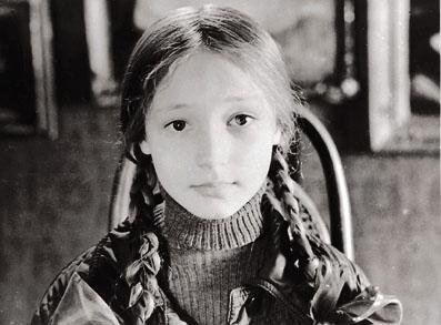 Кристина Орбакайте в детстве