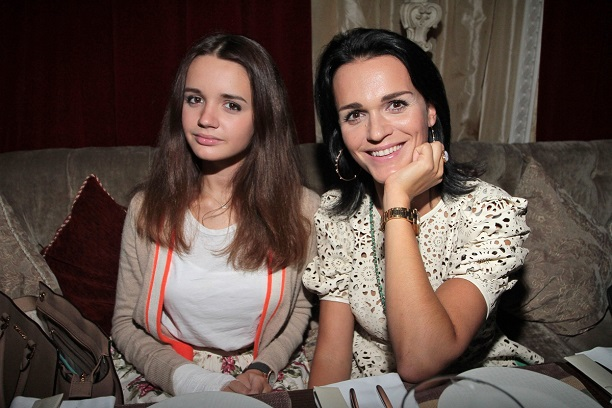 Слава с дочерью. Фото Goodhouse.ru
