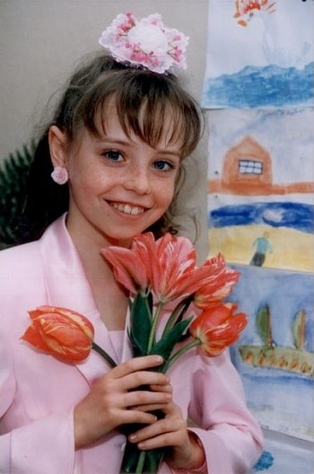 Надежда Дорофеева в детстве