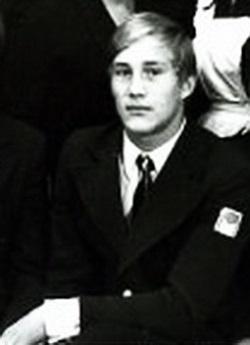 Евгений Сидихин в юности