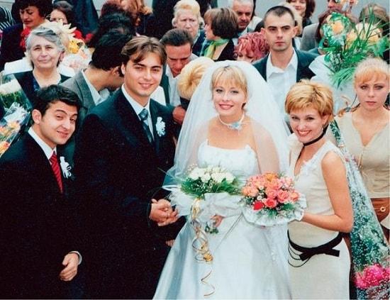 Елена Кравец с мужем Сергеем свадьба
