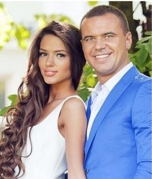Виктория Короткова с бывшим мужем