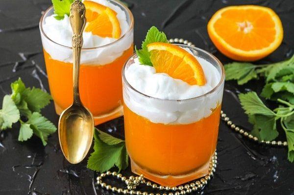 апельсиновое желе