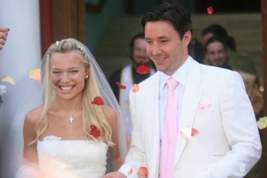 Илья Ковальчук с женой Николь. Свадьба