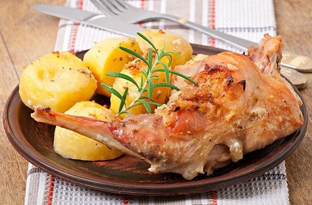 Как приготовить мясо кролика