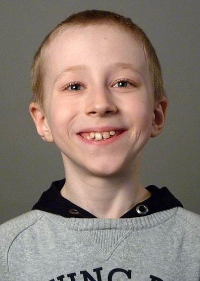 Семен Трескунов в детстве