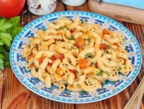 Макароны на сковороде: 10 простых рецептов