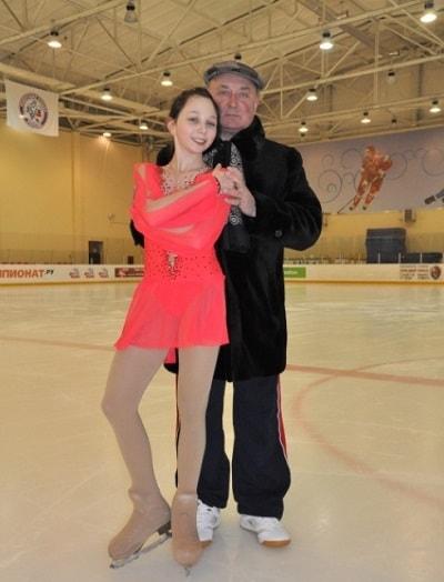 Елизавета Туктамышева с Алексеем Мишиным-min
