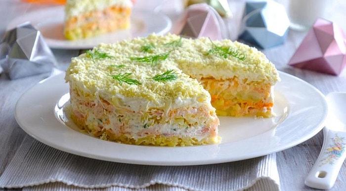 Салат Мимоза: 8 простых рецептов приготовления
