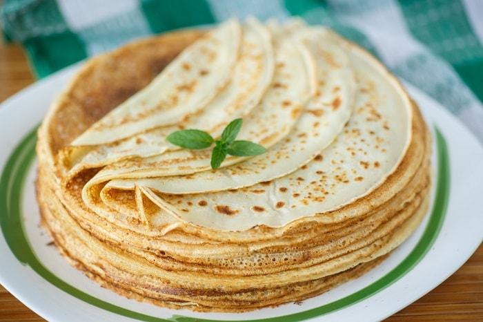 Тонкие блины: 10 простых рецептов приготовления