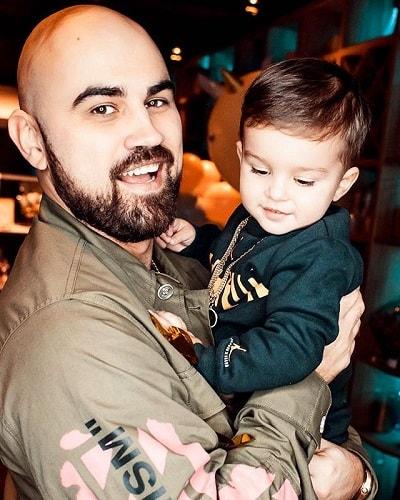 Артик с сыном